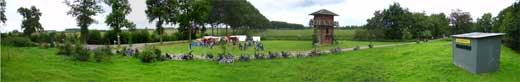 A large Roman camp has sprung up again for the Open Monuments weekend.